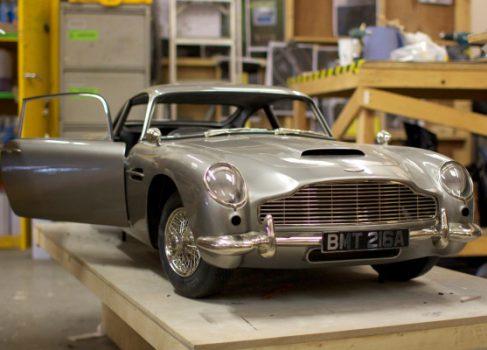 3D модель Aston Martin для съёмок в James Bond: Skyfall