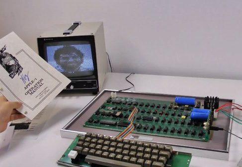 Один из шести оставшихся Apple I продан за € 400 000