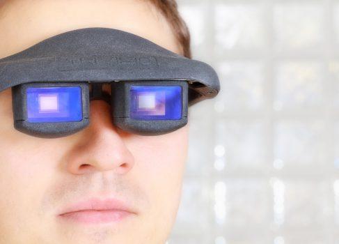 Немцы показали очки дополненной реальности, управляемые движением глаз