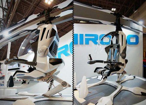 Hirobo представила электрический микровертолет HX-1