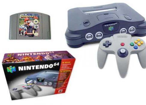 Представлен рабочий образец Nintendo 64