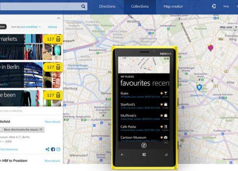 Nokia выпустит свои карты для iOS 6