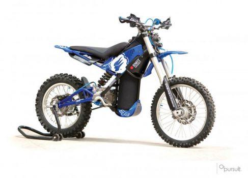 O2 Pursuit: кроссовый мотоцикл с пневматическим приводом