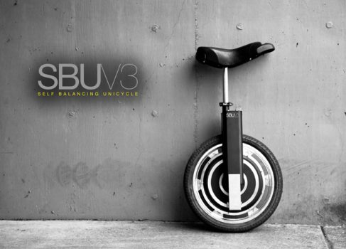 Unicycle V3 – это как Segway, но с одним колесом