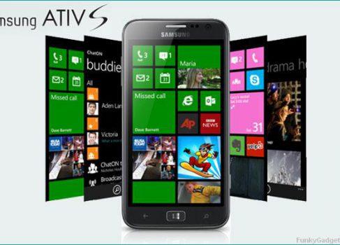 Выпуск Samsung ATIV S задерживается до января