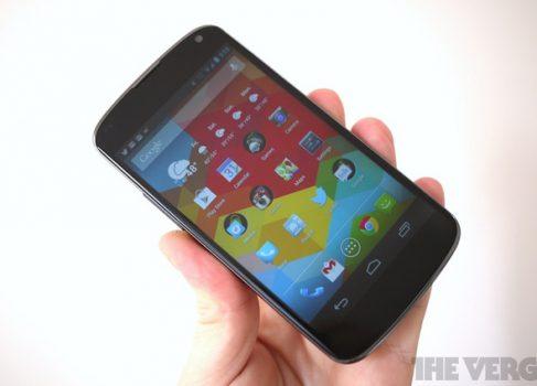 Nexus 4 в России будет стоить 19 990 рублей