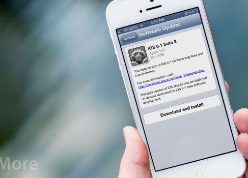 Apple выпустила iOS 6.1 beta2 для разработчиков