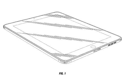 Apple запатентовала прямоугольное устройство со скруглёнными углами