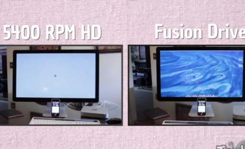 Fusion Drive от Apple чертовски быстр