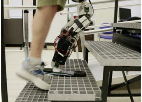 Человек с бионической ногой поднялся на Willis Tower