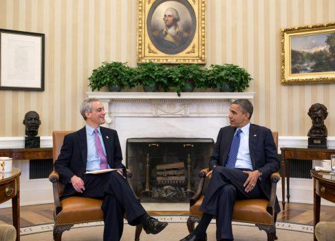 Президент Обама встретился с Тимом Куком и другими CEO для обсуждения фискального обрыва