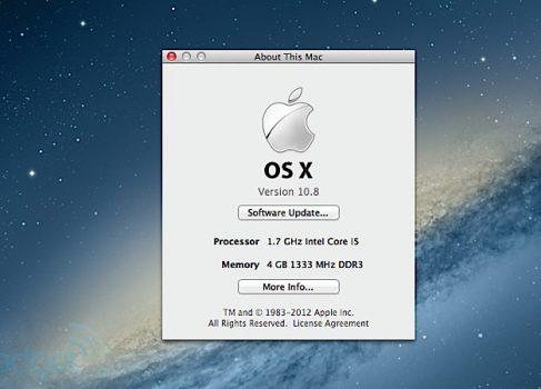Проблемы с обновлением до OS X 10.8.2