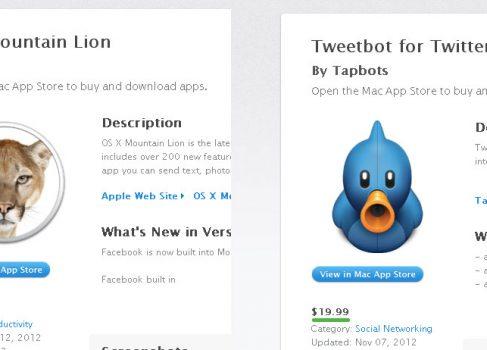 OS X Mountain Lion стоит столько же, сколько TweetBot