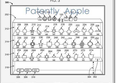 Apple патентует 3D-док для OS X