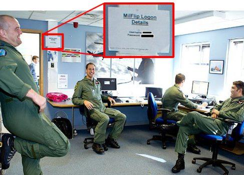 Фотосессия принца Уильяма нарушила секретность королевских ВВС