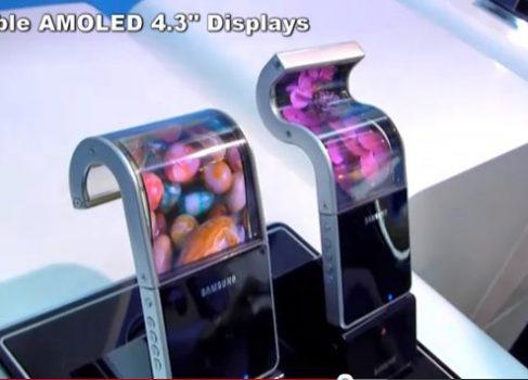 Samsung начнёт выпуск «гибких смартфонов» в первой половине 2013 года