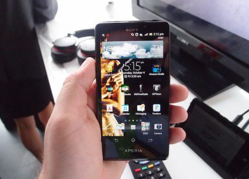SONY обещает топовый смартфон для конкуренции с iPhone и SGSIII