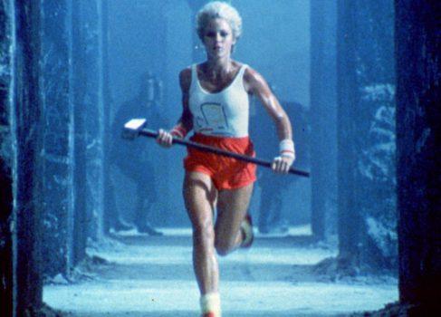 Рекламный ролик «1984» впервые появился в телеэфире