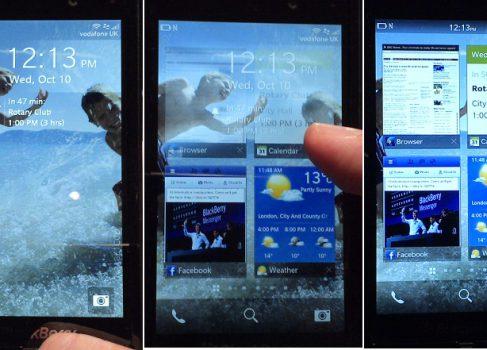 Новые скриншоты BlackBerry 10 OS
