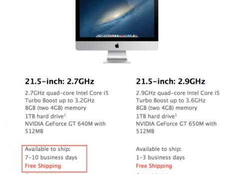 Apple задерживает New iMac