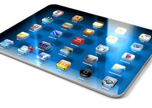 Дисплей нового поколения для iPad 5