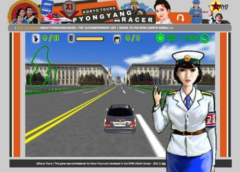 Pyongyang Racer: гонки по Северной Корее