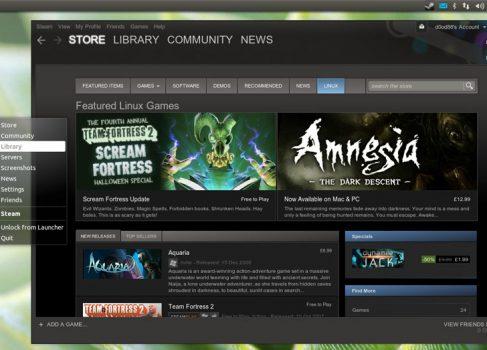 Steam под Linux открыт для тестирования