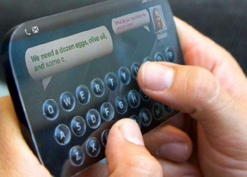 Разработан сенсорный экран с кнопками-каплями