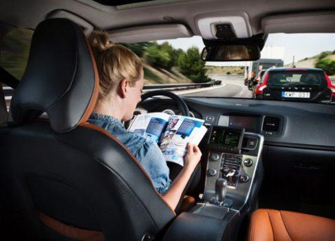 Volvo планирует выпустить самоуправляемый автомобиль к 2014 году
