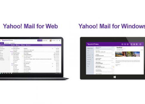 Yahoo представила обновлённый почтовый сервис