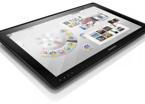 Время гигантов: 27-дюймовый планшет от Lenovo и 20-дюймовый от Panasonic