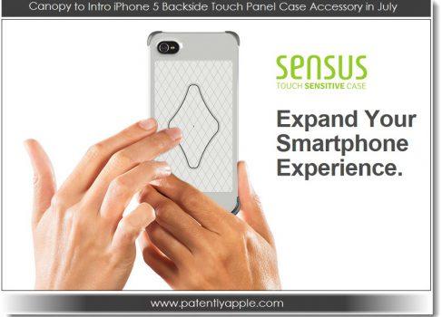 CES-2013: сенсорный чехол Sensus для iPhone 4S и iPhone 5