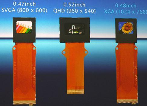 Epson представила дисплей с плотностью пикселей 2667ppi