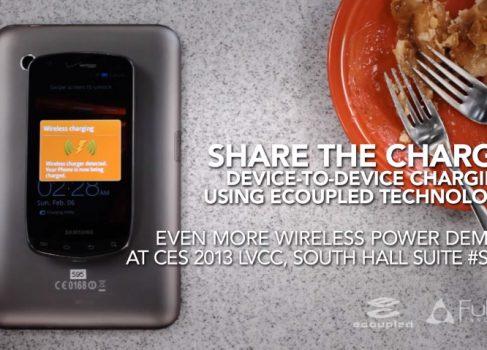На CES-2013 Fulton покажет планшет, который одновременно является беспроводным зарядником