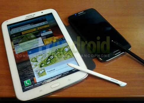 Новые фото планшета Samsung Galaxy Note 8.0