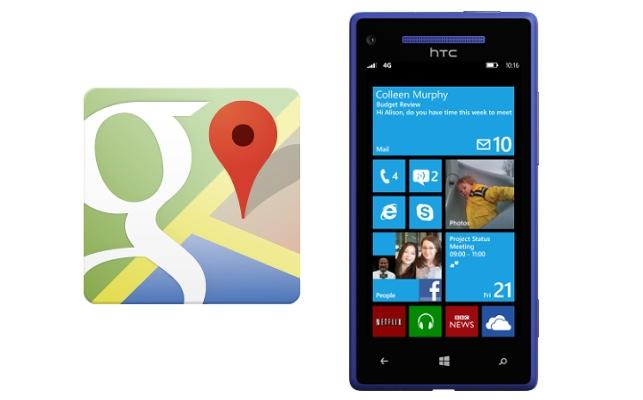 Google-Maps-Windows-Phone