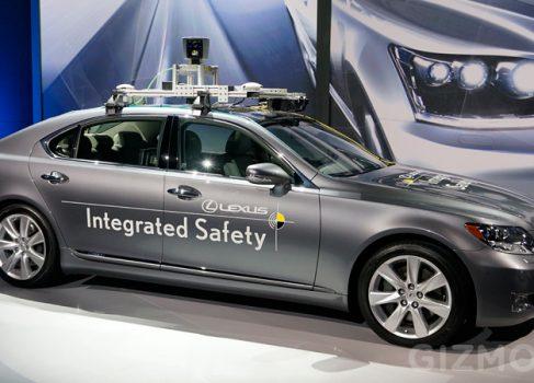 Интеллектуальный Lexus LS600 hL — серьезный конкурент для самоуправляемых машин Google