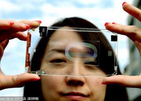 Прозрачный смартфон Polytron в действии [видео]