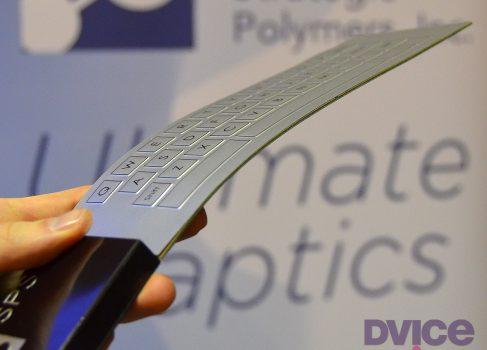Strategic Polymers показала новый материал-трансформер
