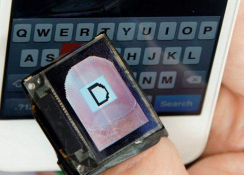 На Тайване разрабатывают напёрсток с OLED-дисплеем