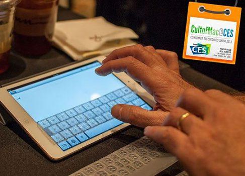 CES-2013: клавиатура с тактильным откликом для iPad mini