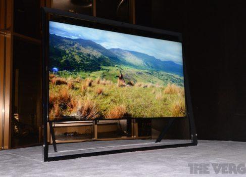 SAMSUNG представила 85″ Ultra HD 4К телевизор