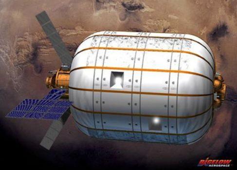 NASA потратит $17.5 млн. на надувные модули для МКС