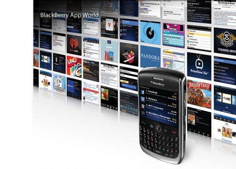 Приложения для BlackBerry дешевеют