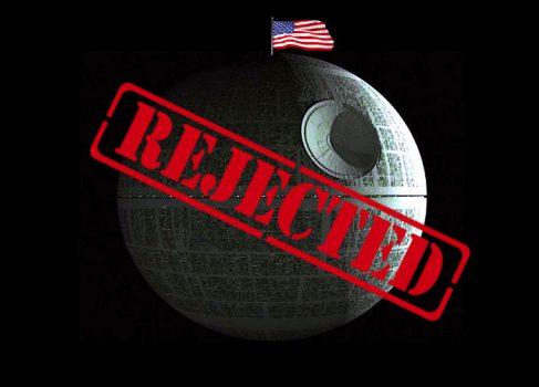 Правительство США считает строительство «Звезды смерти» нецелесообразным