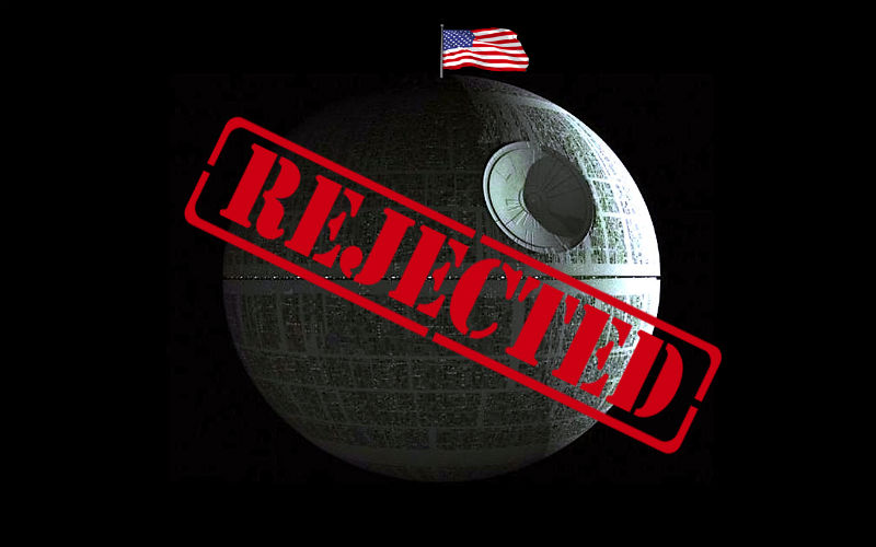 death star rejection