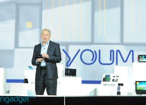 CES-2013: Samsung продемонстрировала прототипы с гибким дисплеем Youm [видео]