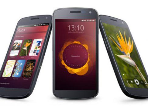 Смартфоны на Ubuntu появятся в октябре