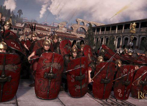Опубликован видеодневник разработчиков Total War: Rome II
