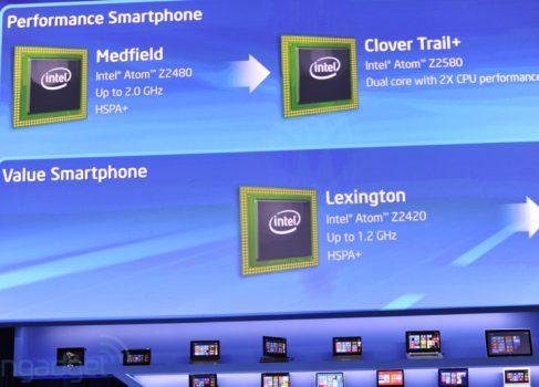 Анонсированы смартфоны сразу на двух платформах от Intel